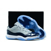 "Mens Air Jordan 11 Low ""Georgetown"" For Sale Free Shipping XZtfT"