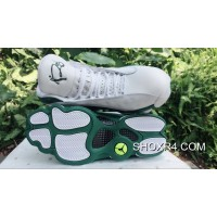 AJ13 Air Jordan 13 Allen Ray White Green New Release R87FTe