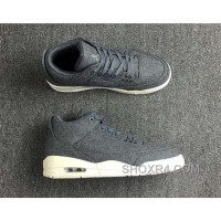 Air Jordan 3 Retro Wool Dark 854263-004 Super Deals PH85PJ