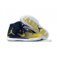 "2017 Air Jordan XXX1 ""Michigan"" PE Super Deals WRR2n"
