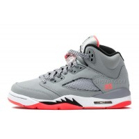 "Air Jordan 5 Retro Womens GS ""Hot Lava"" In Girls Cheap For Sale"