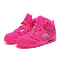 Womens Air Jordan 5 Girls Size All Pink For Sale