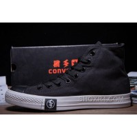 Black High Tops Flash CONVERSE Chuck Taylor All Star Canvas Sneakers Lastest GEZBH
