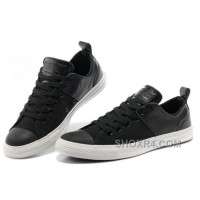 Black CONVERSE Chuck Taylor All Star City Lights Tops Leather Canvas Sneakers Online S5ETk