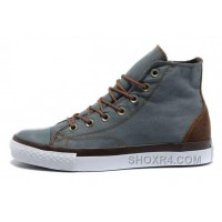 Grey Denim CONVERSE All Star Vampire Diaries High Tops Sneakers Christmas Deals Ftnax