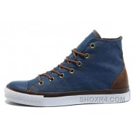 Blue Denim CONVERSE All Star Vampire Diaries High Tops Sneakers Online D8AGp