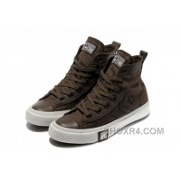 Brown CONVERSE High Tops Chocolate All Star Canvas Shoes Authentic BazPT