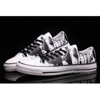 CONVERSE The Matrix Brush Printed Black White CT AS Canvas For Sale Ez6T8