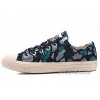 CONVERSE All Star Suede Camouflage Chuck Taylor Sneakers Black Green Grey Free Shipping 5cZBz