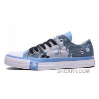 Blue CONVERSE Chuck Taylor Punk Skull Pirate All Star Low Discount BHkfi