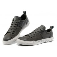 CONVERSE Chuck Taylor Grey All Star City Lights Tops Black Leather Canvas Sneakers Christmas Deals XyP6E