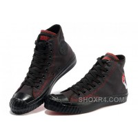 CONVERSE American Idiot Green Day Black Red All Star High Tops Canvas Bosey Boot For Sale 43Yrw