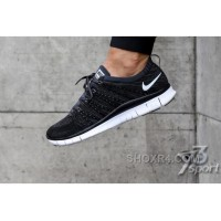 NIKE 5.0 1:1 Flyknit Black Grey White 36-44 Authentic ZwANCc