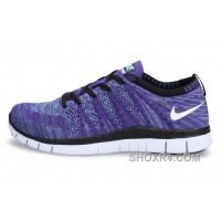 NIKE 5.0 599459-500 Flyknit Purple White Blue Lastest AFeBkw4