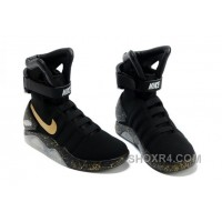 Nike Air Mag Back To The Future Limited Edition Shoes Black Gold New Release 5Rai5y