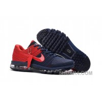 Authentic Nike Air Max 2017 KPU Navy Red New Release EGw5DPb