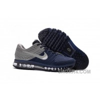 Authentic Nike Air Max 2017 KPU Navy Grey Discount YcG5Ys