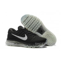 Authentic Nike Air Max 2017 Black Grey Online WemdkY