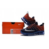 2017 Kids Nike Flyknit Zoom Air Blue Orange Red New Style AZAYA