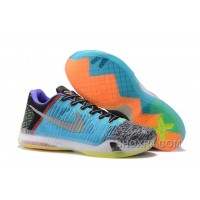 "2017 Nike Kobe 10 Elite Low ""What The"" Mens Basketball Shoes Online Awy8brc"