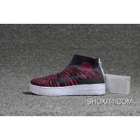 Nike Lunar Force1 Duckb 28-35 Kids Red Cheap To Buy