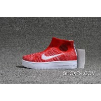 Nike Lunar Force1 Duckb 28-35 Kids Red White Online