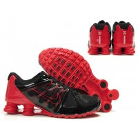 Nike Shox Agent Black Red Shoes