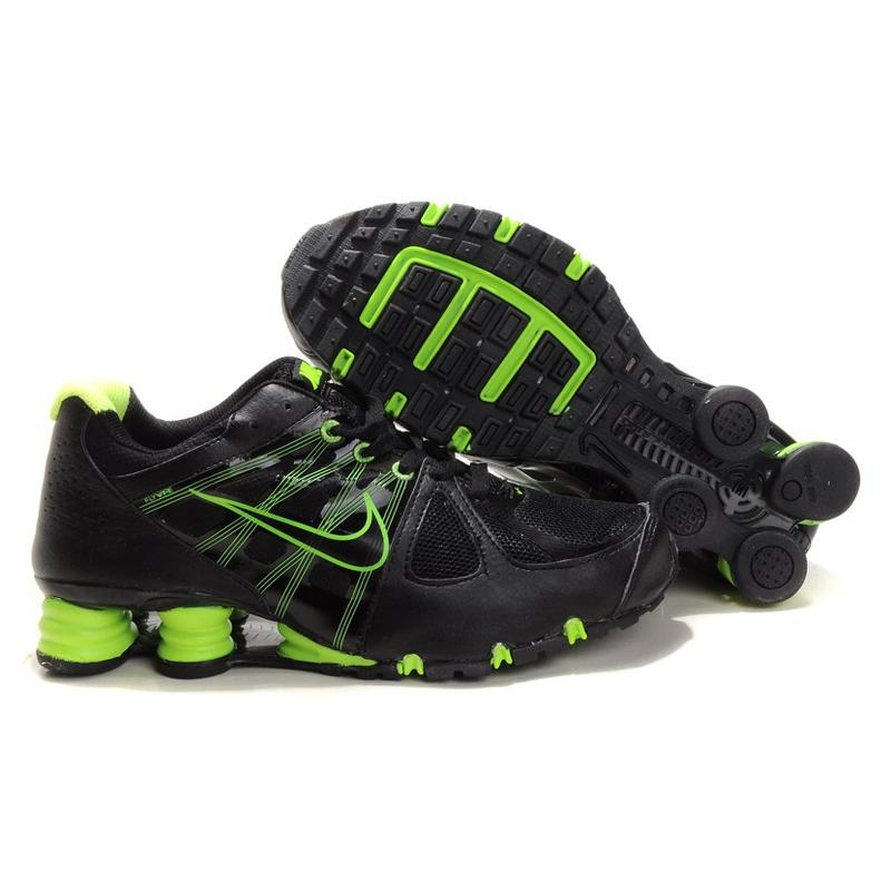 Nike Shox Agent Black Green , Price: $73.95 - Shox R4 ...