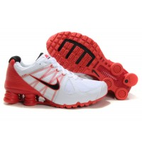 Nike Shox Agent White Red Black