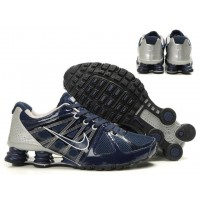 Nike Shox Agent Midnight Blue Silver Shoes
