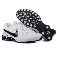 Nike Shox Deliver White Black Shoes