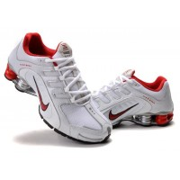 Nike Shox Navina White Red