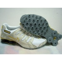 Nike Shox NZ Line Imagery Beige White Yellow