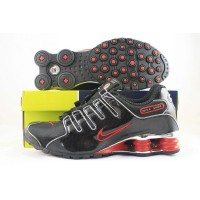 Nike Shox NZ Plating Mesh Black Red