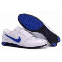 Nike Shox R3 Velcro White Royal