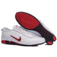 Nike Shox R3 White Metallic Red