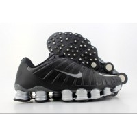 Nike Shox TLX Black Silver Dark Grey