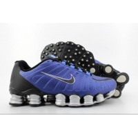 Nike Shox TLX Royal Blue Black Silver
