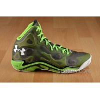Under Armour Micro G Anatomix Spawn 2 Green Black White For Sale MhJJB4
