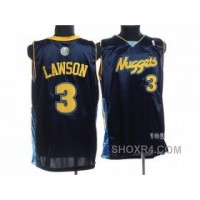 NBA Denver Nuggets #3 LAWSON Dk,blue Free Shipping SdY3F