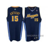 Denver Nuggets #15 Carmelo Anthony Swingman Dark Blue For Sale DieHi