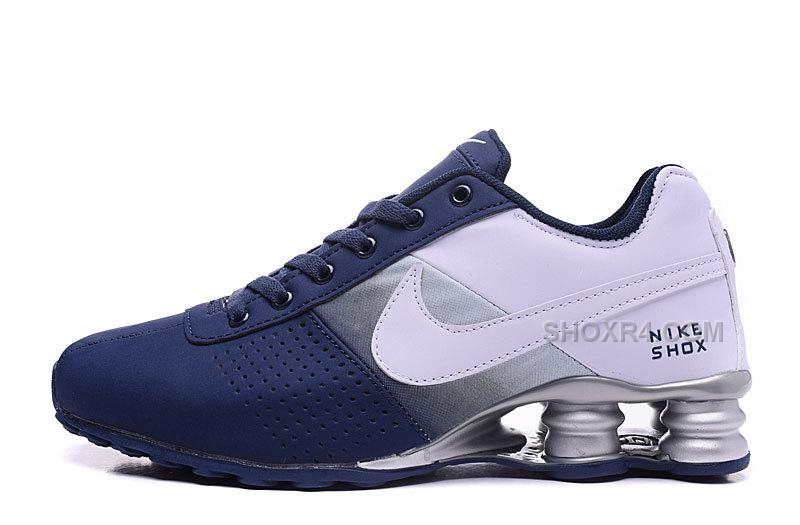 nike shox deliver blue